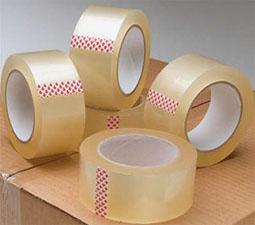 Скотч упаковочный с логотипом на сайте Plastics Georgia - Plastics
