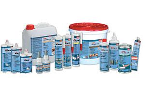 Клей и очистители для пластика Cosmofen, Acrifix на сайте Plastics Georgia - Plastics